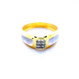 Yellow Gold Men Ring