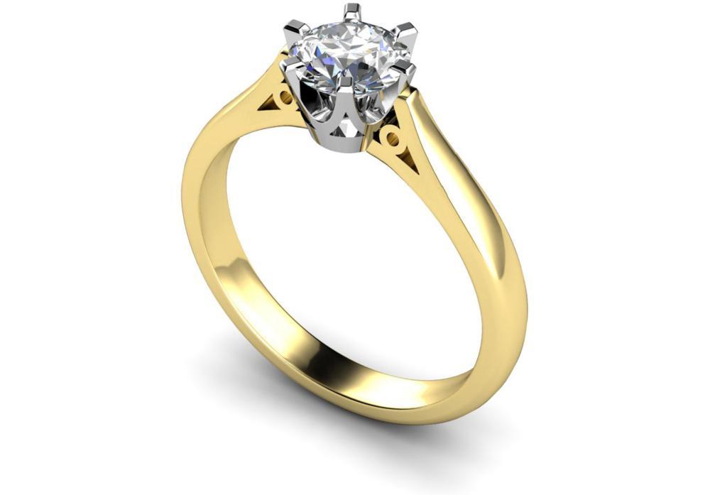 Ladies Single Diamond Ring