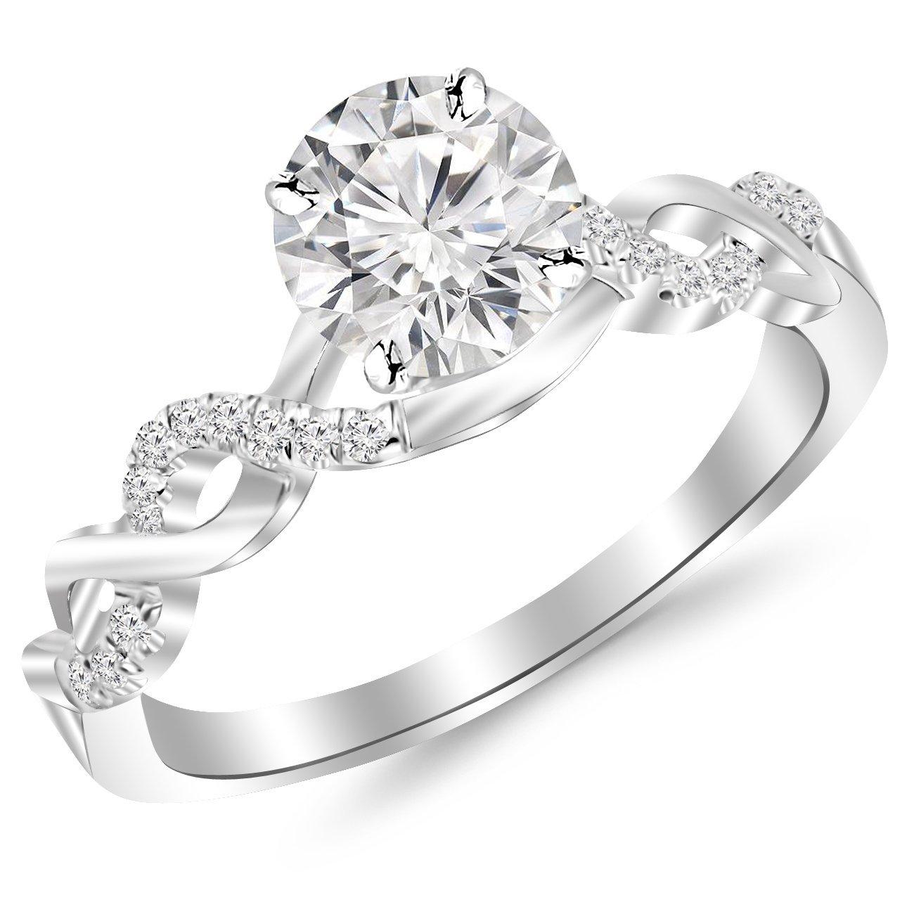 Single Diamond Ring